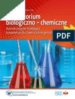 Laboratorium biologiczno-chemiczne - Autorski program rozwijający kompetencje kluczowe uczniów gimnazjum