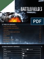 Battlefield 3 - Manual - PS3