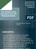 Los Beneficios Sociales de Los Trabajadores