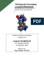Struktur, Wirkung und Anwendung des Lysergsäurediethylamid