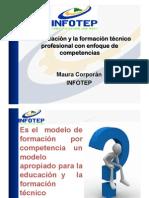 La Educación y La Formación Técnico Profesional Con Enfoque de Competencias