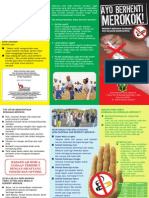 leaflet merokok