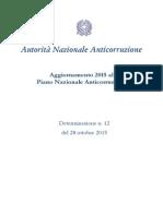 PNA - Aggiornamento 2015_sito