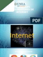 Principales Exploradores de Internet
