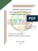 ROL SOCIO POLITICO DE ACTORES