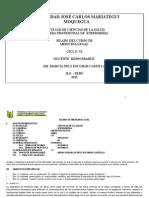 Silabo de Medicina Legal 2014-13