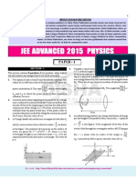 JEE-Advance Physics 2015 Paper(1)