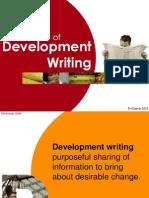 1 Context of Development Writing