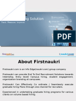 Firstnaukri End to End Campus Hiring Assistance - LT Technology Services