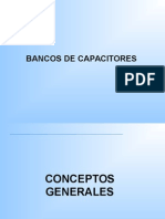 Bancos de Capacitores alta tension