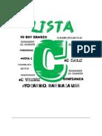 Presentación Lista C