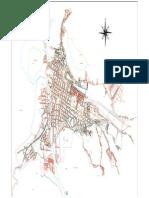 Plano General ciudad de huamachuco