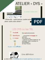 Atelier DYS Doc Diaporama