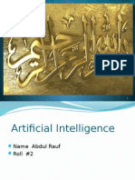 Artificial Intelligence Presentation