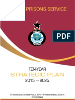 Ghana Prisons Service Ten Year Strategic Development Plan
