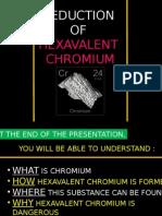 Chromium Reduction Presentation