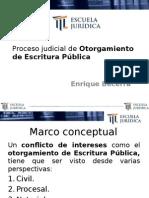 Clase 5 - Enrique Becerra Medina - Otorgamiento de Escritura Publica -03!11!15 (1)