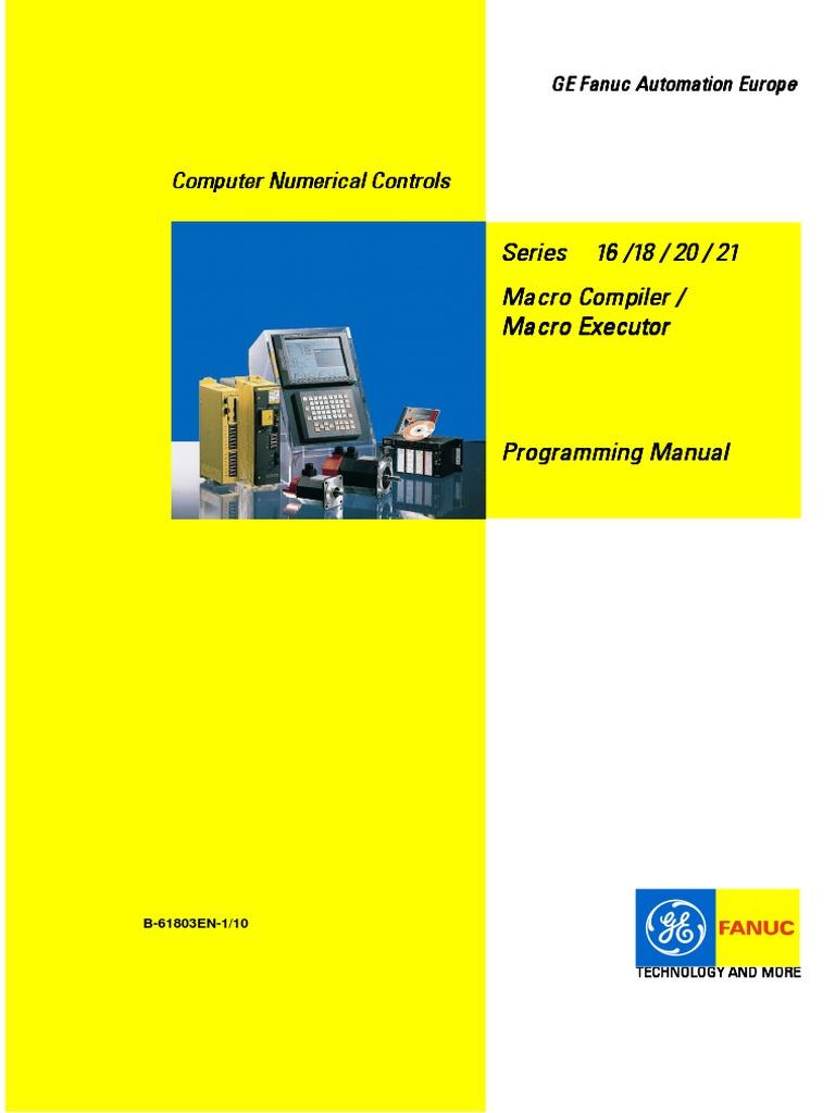61803en 1 10 pdf rh scribd com Fanuc Programming Training Fanuc Programming Code