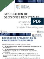 Clase 8 - Rosario Guerra Macedo - Impugnacion Judicial de Decisiones Registrales -13!11!15