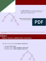 Alberi Binari