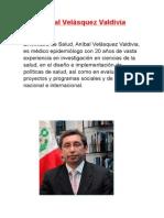 Aníbal Velásquez Valdivia