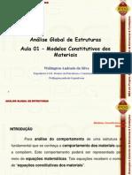 Notas de Aula - Analise Global de Estruturas