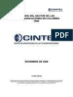 23.Estudio Sectorial 2006 Estudio Del Sector de La Telecomunicaciones en Colombia 2006