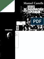 Redes de indignacion y Esperanza. Manuel castells