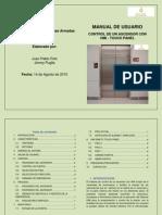 Manual Ascensor_Redes Industriales_ESPE