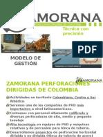 2015 Modelo de Gestión Zamorana 2015