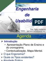 Aula ENGENHARIA DE USABILIDADE