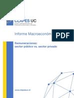 Estudio CLAPES UC - Sueldos Publicos y Privados