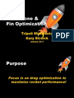 Nose Cone & Fin Optimization