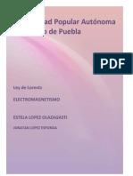 Ley de Lorentz