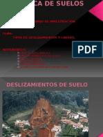 Deslizamiento y Causas- Expo- Suelos
