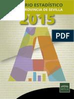 Anuario Estadístico Provincia Sevilla 2015