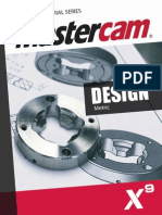 SAMPLE_Mastercam_X9_Design_Training_Tutorial_Metric.pdf