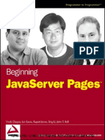 Beginning JavaServer Pages - IsBN 0764589520