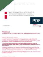 Actionnaires Individuels - Cassons Les Idées Recues