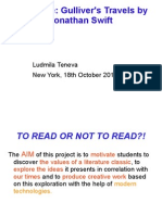 Presentation Ludmila Teneva Gulliver's Travels 21 Oct.13