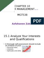 CHAPTER 10 Career Planning Management.ppt