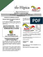 Boletin Del Miércoles 25 de Noviembre de 2015