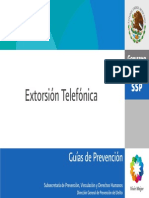 Extorsion Telefonica