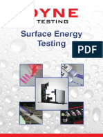 Surface Energy Testing(1)