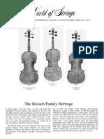Luthier Familia Bisiach