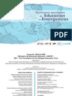 Emergencias Educacion Preparacion