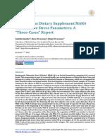 effects of dietary supplement mak4 on oxidative stress parameters