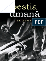 Emile Zola - Bestia Umana