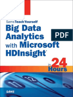 Big Data Analytics With Microsoft HDInsight in 24 Hours- Sams Teach Yourself