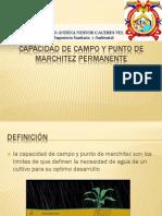 capacidad de campo y marchitez permanente.pdf